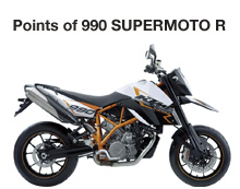 Points of 990 SUPERMOTO R