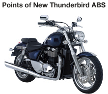 Points of New Thunderbird ABS